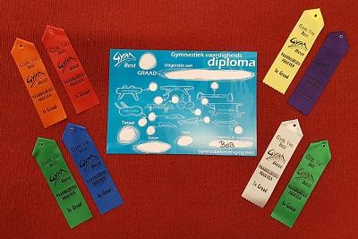 VHE diploma klein