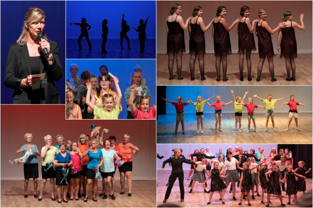 Collage dansshow 2018