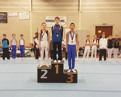 Regio TH 2018 podium Kevin