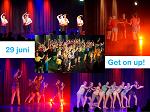 collage Get on up dansshow 2019 klein